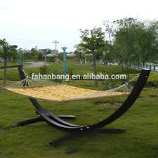 outdoor garden patio swing furniture free standing wood curved arc