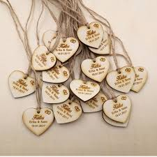 wedding tags personalized wedding favor tags rustic bridal shower favor tags