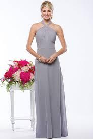 halter bridesmaid dresses vintage halter empire sheath light grey chiffon bridesmaid