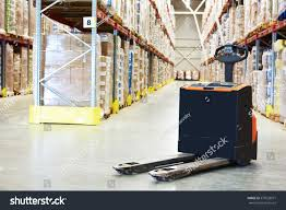 pallet truck warehouse stock photo 573629977 shutterstock