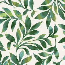 lime green u0026 white large swirling leaves patterned roller blinds