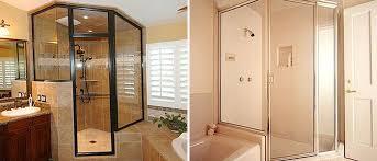 Framed Vs Frameless Shower Door Chino Ca Shower Doors Glass Enclosures Framed Frameless