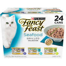 purina fancy feast grilled seafood feast collection cat food 24 3