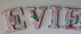 wooden baby letters for nursery uk thenurseries