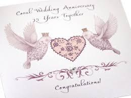 35 year wedding anniversary 35 year wedding anniversary gift webshop nature