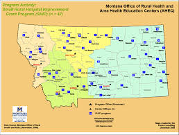 Map Of Montana by Ship Montana Office Of Rural Health And Area Health Education