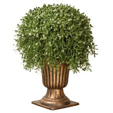 Ny Topiary - national tree company 26 in argentea plant with gold urn lar4 701