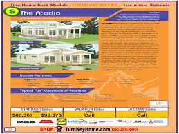 Park Model Rv Floor Plans by Arcadia Tiny Home Park Model Rv Utopian Villas Modular Home Plan Price