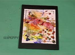 how to make thread art greeting card online 123peppy com