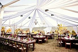 outdoor tent wedding chandeliers hanging from tent outdoor wedding reception