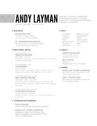 Example Server Resume by Resume Objective Examples Barista