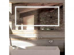 rectangular or square mirror led for bathroom frame