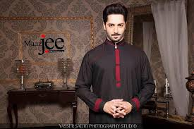 maazjee released a delightful collection for men 2015