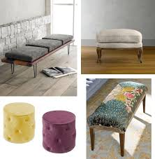 Storage Stools Ottomans Brilliant Modern Ottomans And Benches Storage For Bedroom