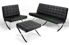 sedia barcellona moderno salotto in pelle un sedile reclinabile in pelle sedia di