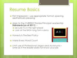 Resume Spacing Format Writing Your Experiential Resume For The Intern Principal