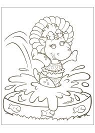 baby bop coloring pages 28 images barney reads baby bop