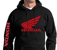 fox motocross sweatshirts honda hoodie ebay
