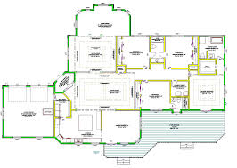 Floor Plans With Inlaw Suite by Single Story Floor Plan U2013 Laferida Com