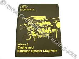 shop manual engine u0026 emission system diagnosis repro 1973