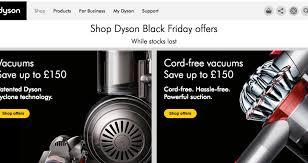 vacuum black friday best deals dyson uk black friday 2017 deals