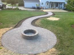 Firepit Brick Patios Solon Hudson Chagrin Gallery Hoehnen Landscaping