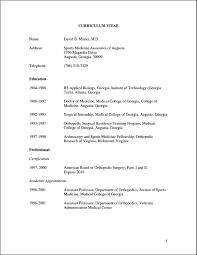 resume templates for doctors curriculum vitae template for doctors free samples examples curriculum vitae template for doctors