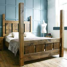normandy four poster bed frames solid wood and woods