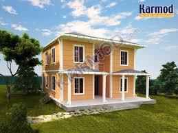 Prefabricated House Modular Duplex Prefab Villa Modular House Manufacturer Karmod