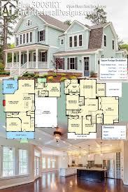 open concept farmhouse plan 30081rt open floor farmhouse plans one story