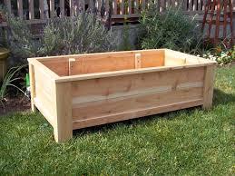 cedar planter box guest home decorations insight