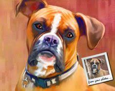 boxer dog art boxer