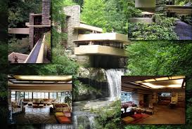 fallingwater modern frank lloyd wright falling water masterpiece wrights photo