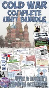 cold war activities bundle cold war history and activities