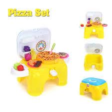 jeu cuisine enfant tempsa maison de jeu cuisine enfant banc jouet 2 en 1 pizza achat