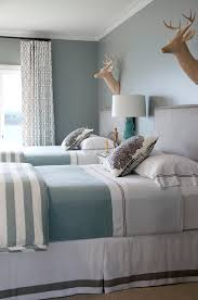 beach style beds beach style chic gray blue bedrooms twin beds and blue bedrooms