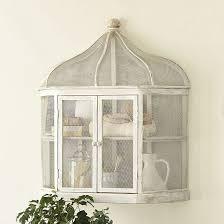 Bird Cage Decor Aviary Birdcage Decorative Shelf Ballard Designs