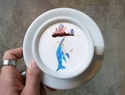 korean barista creates incredible works of latte art inhabitat