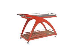 mollino serving cart by elite modern
