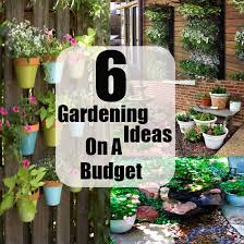 Cheap Garden Design Ideas 6 Gardening Ideas On A Budget And Small Cost Diycozyworld