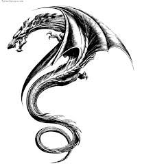 tribal dragon tattoo google zoeken tatt pinterest tribal