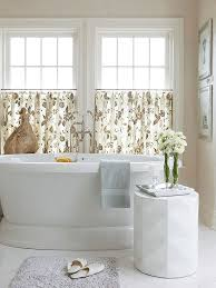curtain ideas for bathroom 7 bathroom window treatment ideas for bathrooms blindsgalore