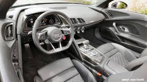 Audi R8 Top Speed - 2017 audi r8 spyder review almost no compromises slashgear