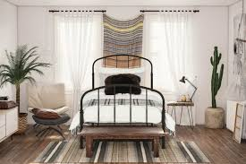 Metal Frame Canopy Bed by Oliver Metal Bed U0026 Reviews Birch Lane