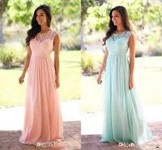 mint bridesmaid dresses 2017 cheap coral mint green junior bridesmaid dress lace