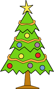 cristmas tree clipart clipground