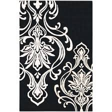 Black And White Modern Rug Add Sophistication And Interest With Black And White Rugs Burke