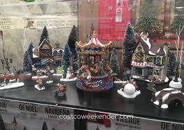 Christmas Village Sets Christmas Village With Lights And Music Costco Weekender