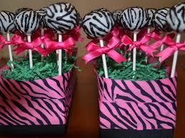 pink zebra baby shower decorations ideas zone romande decoration