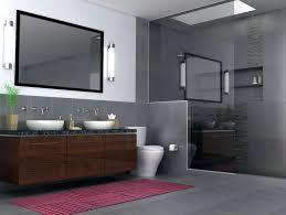 Contemporary Bathroom Wall Sconces Contemporary Master Bathroom With Skylight By Nformal Design